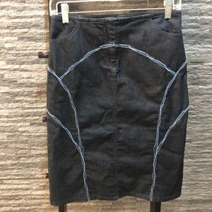 Hugo Boss Denim Skirt